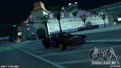 Elegy hard para GTA San Andreas esquerda vista