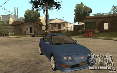 Honda Integra Type-R (Stock) para GTA San Andreas