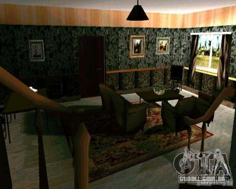 Nova casa CJ v. 2.0 para GTA San Andreas terceira tela