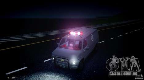 Chevrolet G20 Van V1.1 para GTA 4 vista lateral