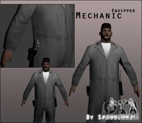 Mecânico para GTA San Andreas
