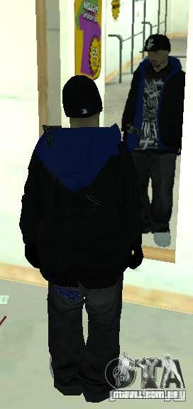 Vagos Gang Skins para GTA San Andreas sétima tela