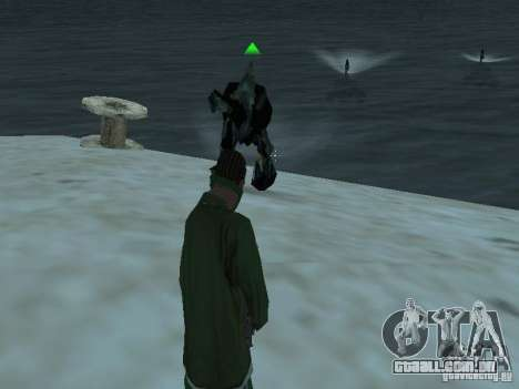 Monstros debaixo d'água para GTA San Andreas segunda tela