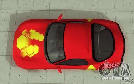 Mazda RX-7 - FnF2 para GTA San Andreas vista direita