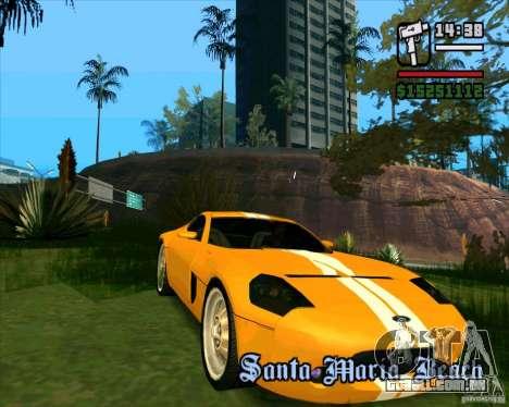 Shelby GR-1 para GTA San Andreas esquerda vista