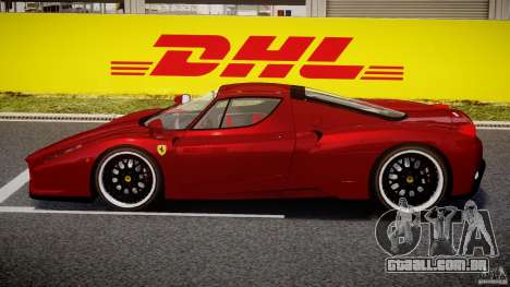 Ferrari Enzo para GTA 4 traseira esquerda vista