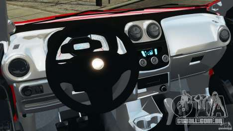 Chevrolet Agile para GTA 4 vista de volta
