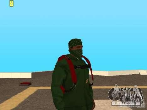 Saltar de paraquedas de TBOGT v2 para GTA San Andreas terceira tela