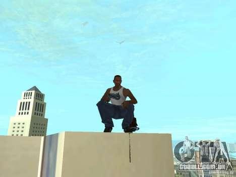 Weapons Pack para GTA San Andreas por diante tela