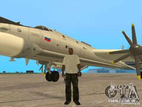 Tu-95 para GTA San Andreas