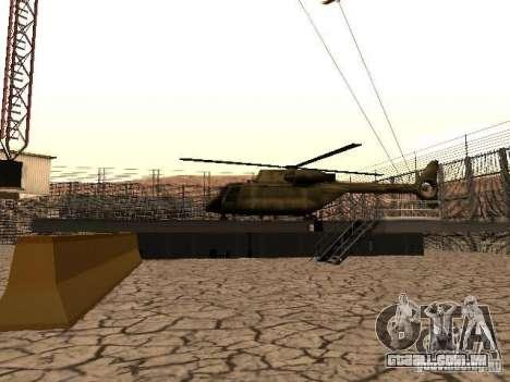 Prison Mod para GTA San Andreas oitavo tela