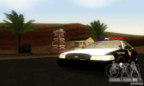 Ford Crown Victoria Texas Police para GTA San Andreas