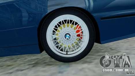 BMW M3 E30 FINAL para GTA 4 vista de volta