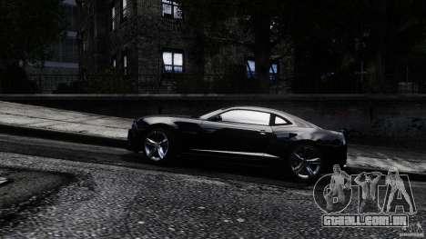 Chevrolet Camaro ZL1 para GTA 4 esquerda vista