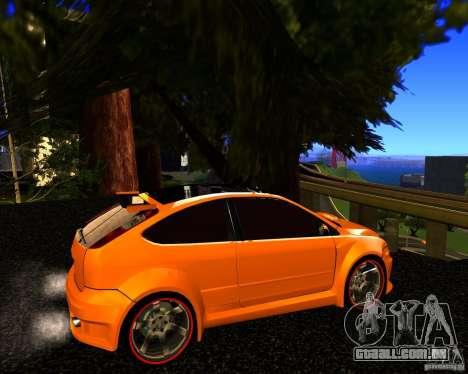 Ford Focus ST Racing Edition para GTA San Andreas esquerda vista