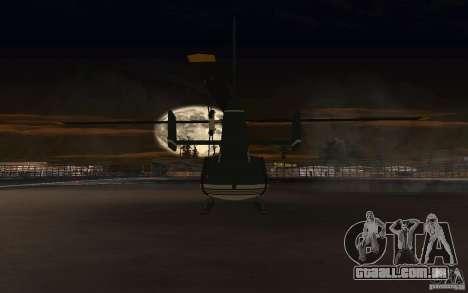 GTA IV Maverick para GTA San Andreas vista traseira