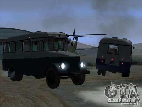 KAVZ 651A para GTA San Andreas vista direita