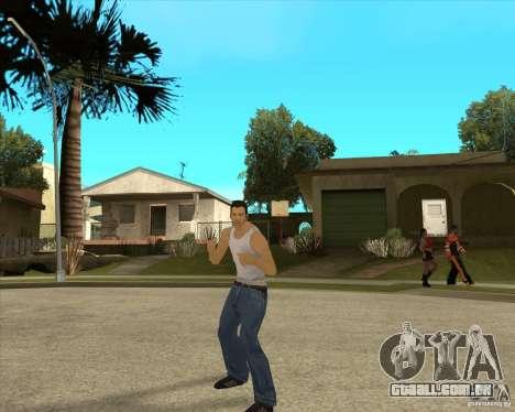Pele Tommy Vercetti v1 FINAL para GTA San Andreas segunda tela
