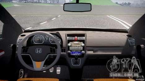 Honda C-RV SeX_BomB 2007 para GTA 4 vista de volta