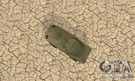 Pele BRDM-1 1 para GTA San Andreas vista interior