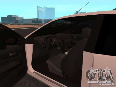 Ford Focus II para GTA San Andreas vista direita