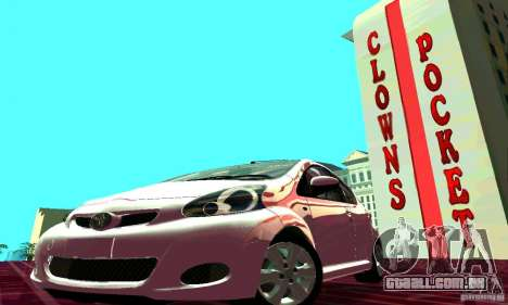 Toyota Aygo V1.0 para GTA San Andreas vista interior