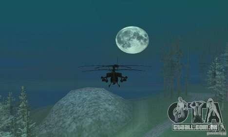 Volta da lua para GTA San Andreas segunda tela