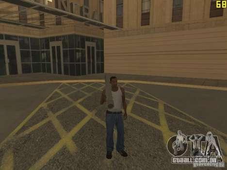 Regeneração dos braços em assassinato para GTA San Andreas por diante tela