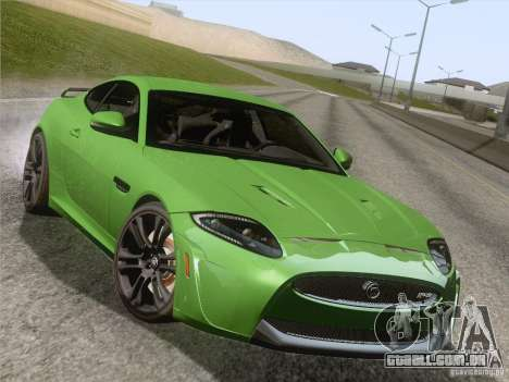 Jaguar XKR-S 2011 V2.0 para as rodas de GTA San Andreas
