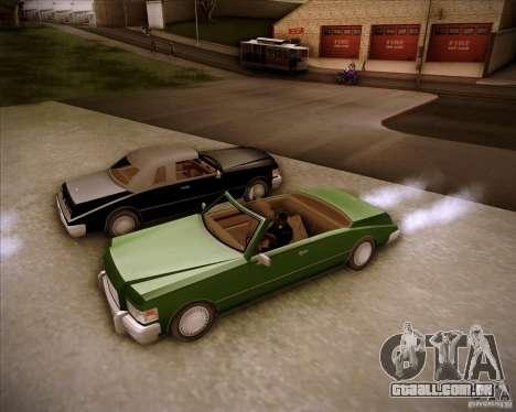 HD Idaho para GTA San Andreas traseira esquerda vista