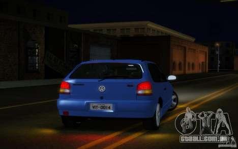Volkswagen Golf GTI 1996 para GTA San Andreas vista direita