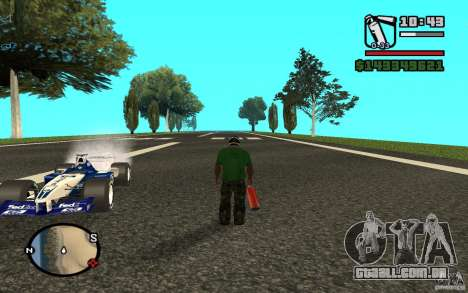 High-speed line para GTA San Andreas terceira tela