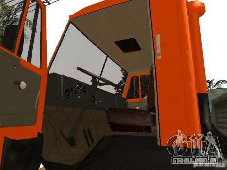 KAMAZ 5320 para GTA San Andreas vista direita