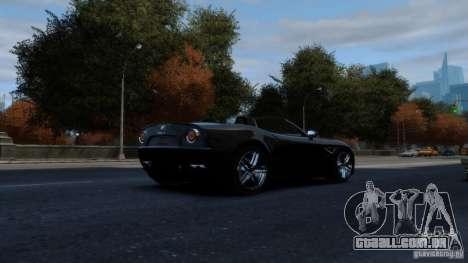Alfa Romeo 8C Competizione Spider v1.0 para GTA 4 vista de volta