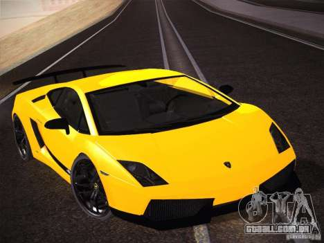 Orange ENB by NF v1 para GTA San Andreas por diante tela