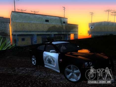 Dodge Charger SRT8 Police para GTA San Andreas vista direita