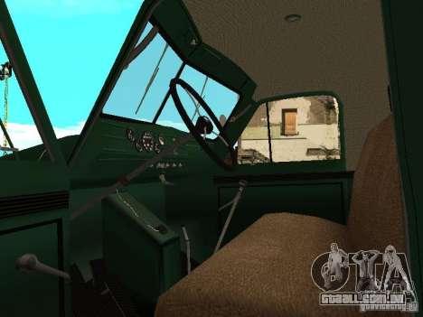 Guindaste móvel de GAZ-51 para GTA San Andreas vista traseira