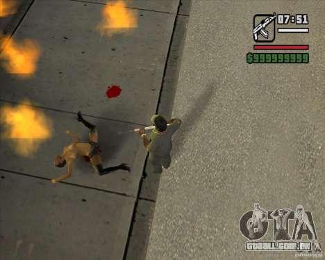 Real Ragdoll Mod Update 2011.09.15 para GTA San Andreas segunda tela