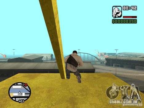 Desmond Miles para GTA San Andreas nono tela