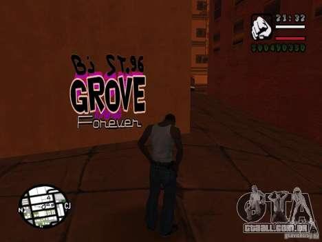 Novas gangues de pichação para GTA San Andreas sétima tela