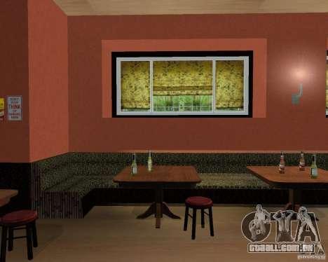 Um novo bar em Gantone para GTA San Andreas sexta tela