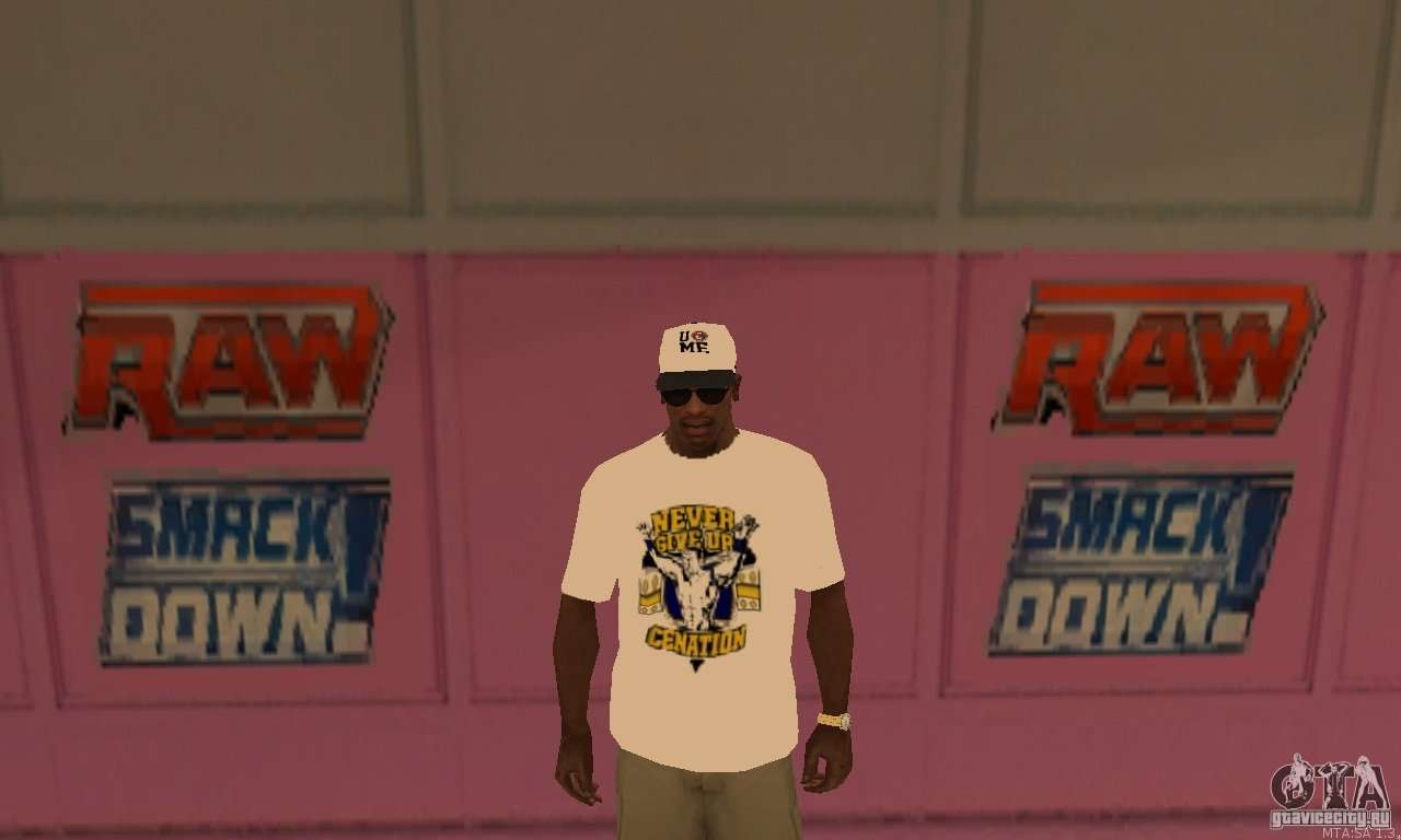 Bon 233 John Cena Para Gta San Andreas