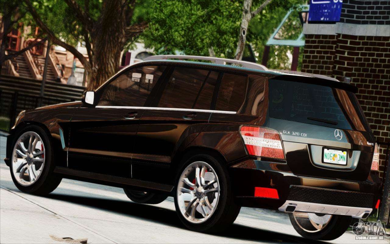 mercedes benz glk 320 cdi para gta 4. Black Bedroom Furniture Sets. Home Design Ideas