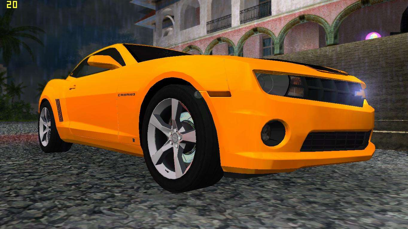 Chevrolet Camaro SS 2010 Para GTA Vice City