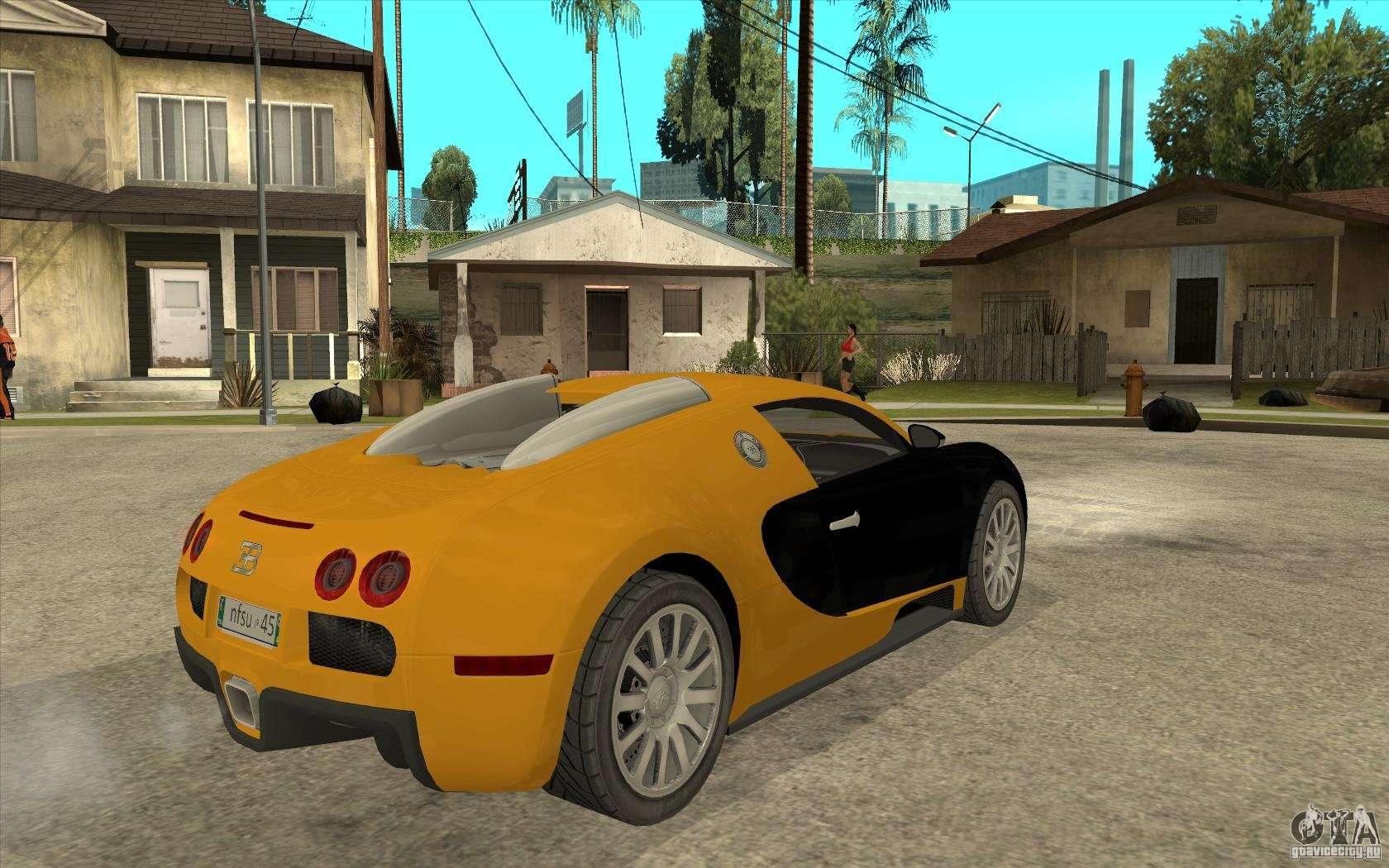 bugatti veyron v1 0 para gta san andreas. Black Bedroom Furniture Sets. Home Design Ideas