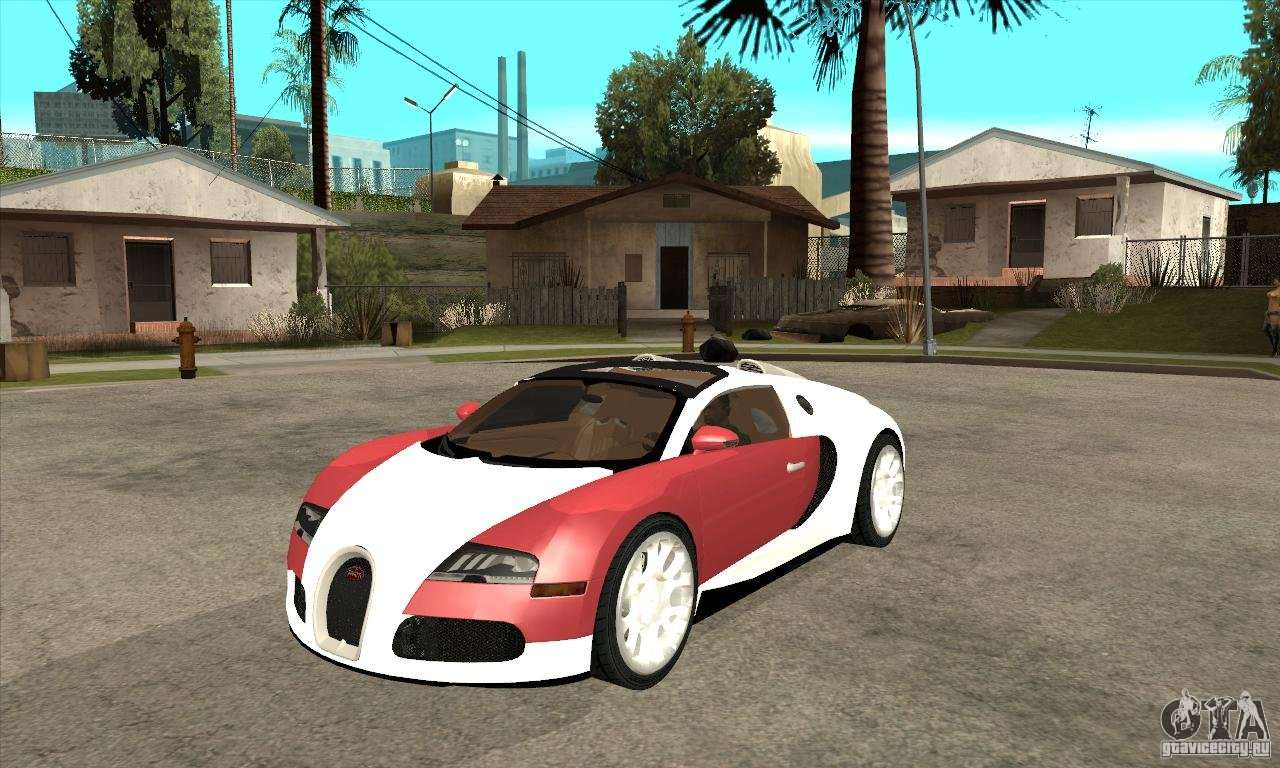 bugatti veyron grand sport para gta san andreas. Black Bedroom Furniture Sets. Home Design Ideas