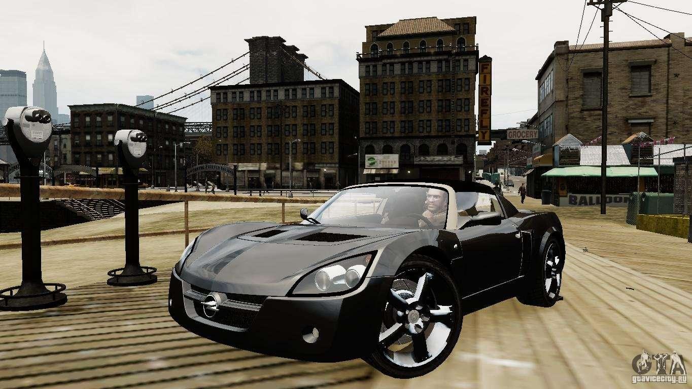 opel speedster turbo 2004 para gta 4. Black Bedroom Furniture Sets. Home Design Ideas