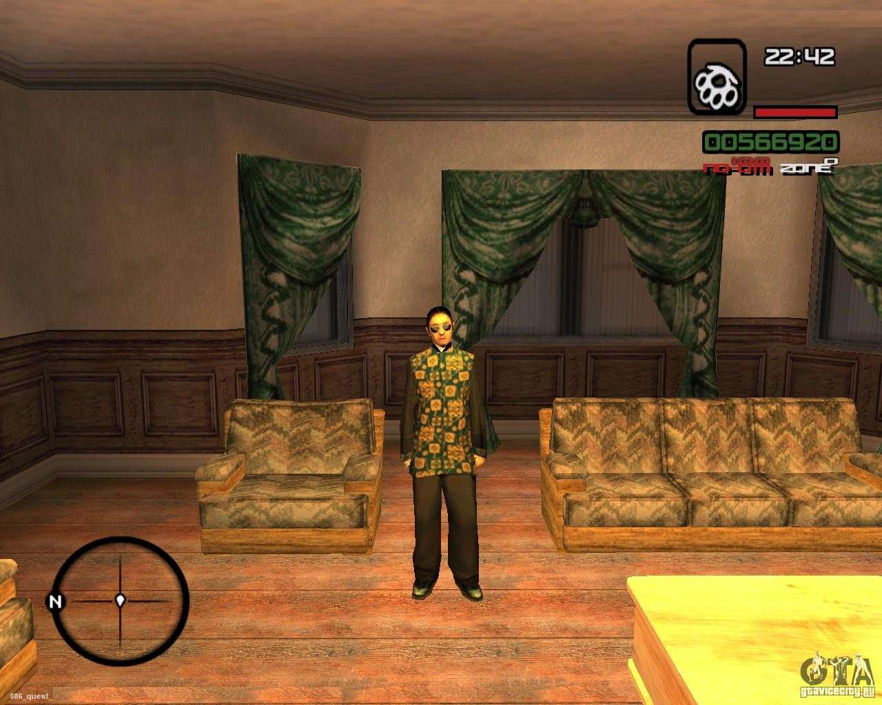 gta san andreas how to change language