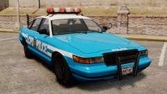 Vapid Police Cruiser ELS para GTA 4