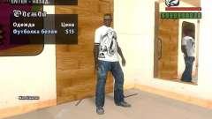 T-shirt do Adidas Crazy Dog para GTA San Andreas